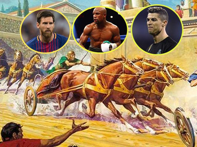Siêu VĐV vạn năm tỷ người có 1: Thần boxing, Mayweather - Ali - Tyson phải nể 2