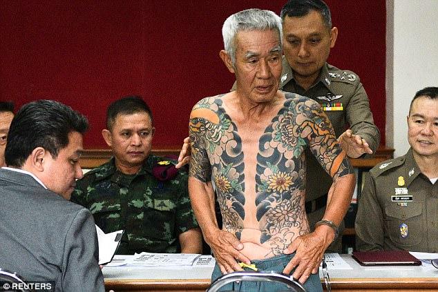 Trùm mafia Nhật Bản bị bắt vì lộ hình xăm trên mạng - 2