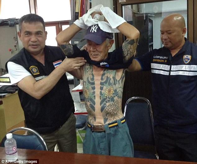 Trùm mafia Nhật Bản bị bắt vì lộ hình xăm trên mạng - 3