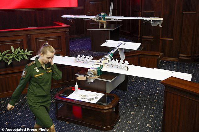"""Nga """"choáng"""" với máy bay không người lái hiện đại của IS - 1"""