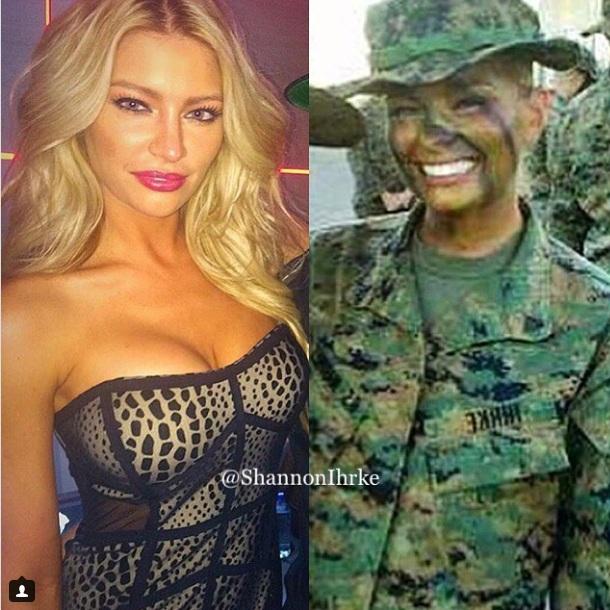Cựu nữ lính thủy đánh bộ Mỹ trở thành người mẫu nóng bỏng - 3