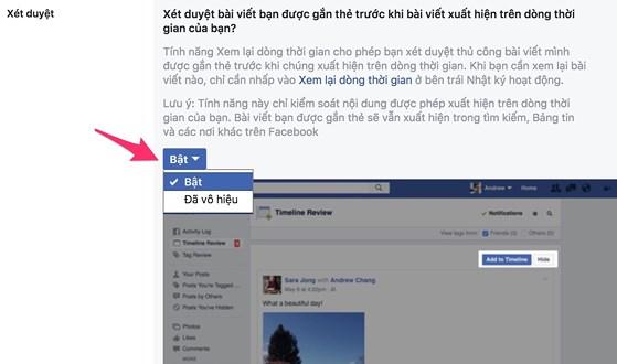 Cách chặn người khác tag trên Facebook - 4
