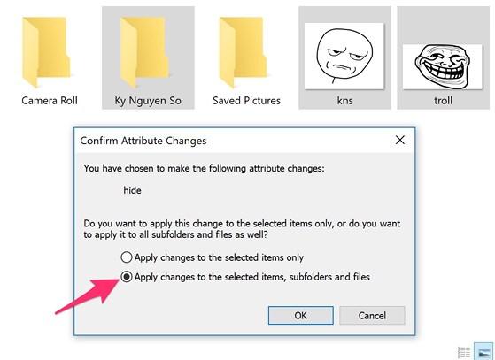 Cách ẩn các tập tin và thư mục quan trọng trên Windows - 4