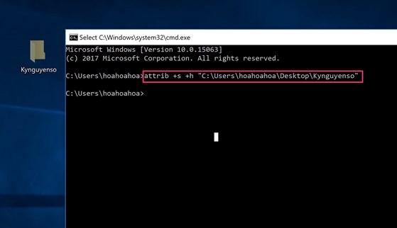 Cách ẩn các tập tin và thư mục quan trọng trên Windows - 7