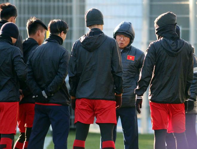 "HLV Park Hang Seo lạc quan, U23 Việt Nam ""do thám"" U23 Úc - 2"