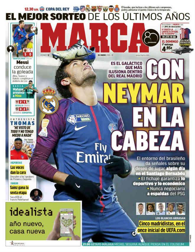 """Real nổ """"bom tấn kép"""" Neymar - Hazard: Ronaldo sẽ là """"vật tế thần"""""""
