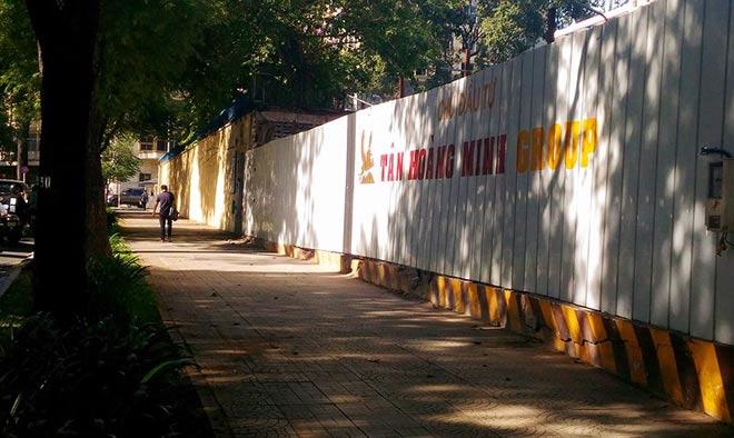 """Sau """"lệnh"""" của ông Đoàn Ngọc Hải, nhiều bãi giữ xe đóng cửa gấp - 5"""