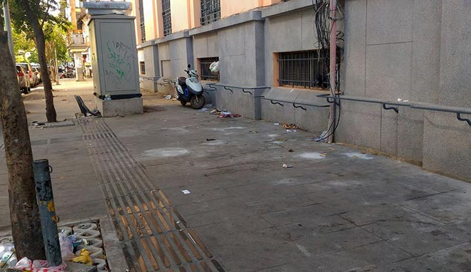 """Sau """"lệnh"""" của ông Đoàn Ngọc Hải, nhiều bãi giữ xe đóng cửa gấp - 6"""