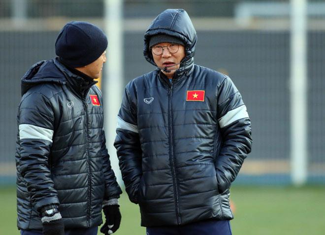 Suýt làm U23 Hàn Quốc choáng, U23 Việt Nam tươi cười tập đấu U23 Úc - 1