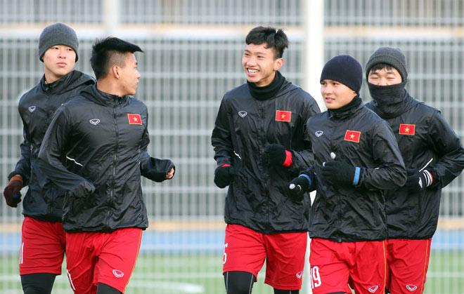 Suýt làm U23 Hàn Quốc choáng, U23 Việt Nam tươi cười tập đấu U23 Úc - 8