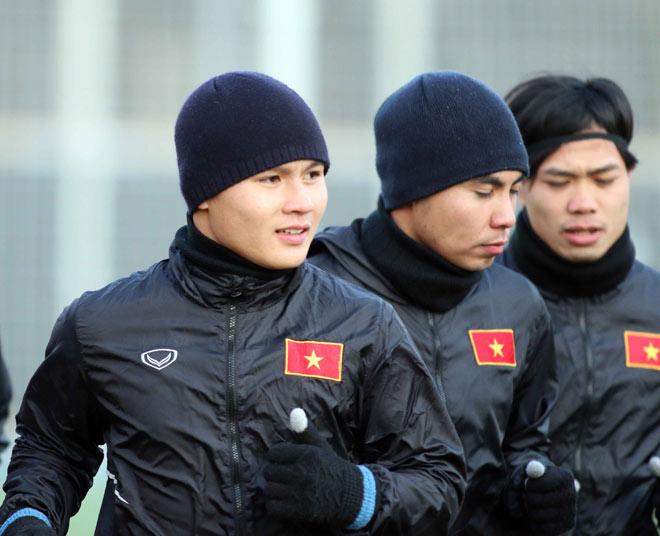Suýt làm U23 Hàn Quốc choáng, U23 Việt Nam tươi cười tập đấu U23 Úc - 9