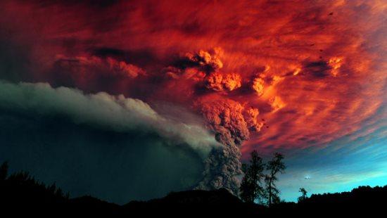Núi lửa phun trào dữ dội như thế nào? - 1