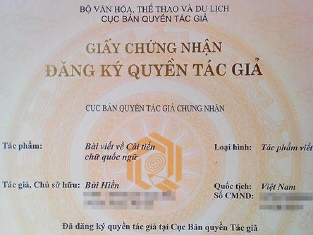 """PGS Bùi Hiền đăng ký bản quyền cải tiến """"Tiếw Việt"""": Không vì sợ ai đó chiếm hữu"""