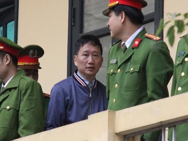 Trịnh Xuân Thanh khóc, xin lỗi ông Đinh La Thăng