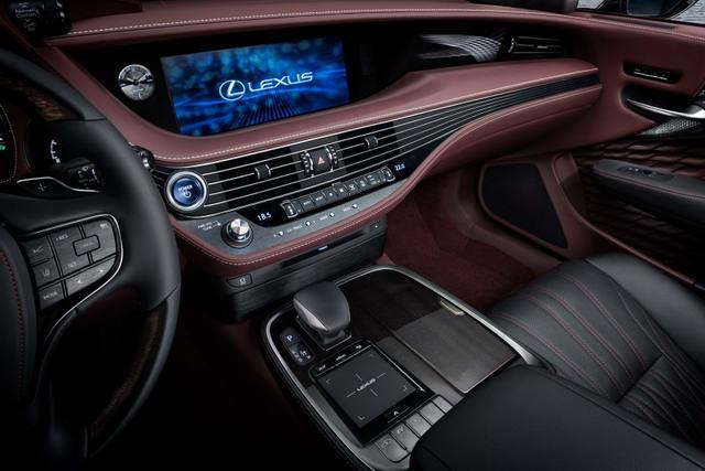 Lexus LS 500 Luxury 2018 giá từ 4,55 tỷ đồng - 2