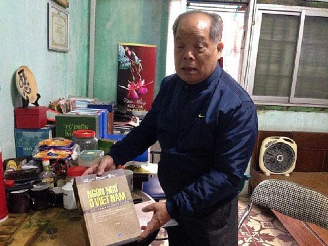 """Cải tiến """"tiếw Việt"""" của PGS Bùi Hiền được cấp giấy chứng nhận bản quyền - 1"""