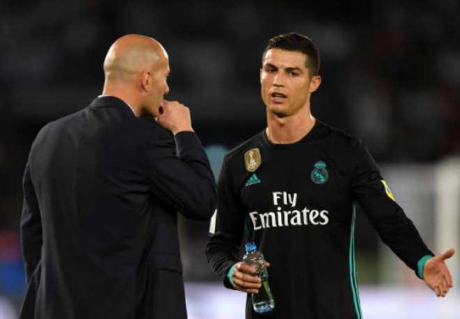 Real Madrid lo không dự nổi Cúp C1: Zidane quá khổ vì Ronaldo - 3