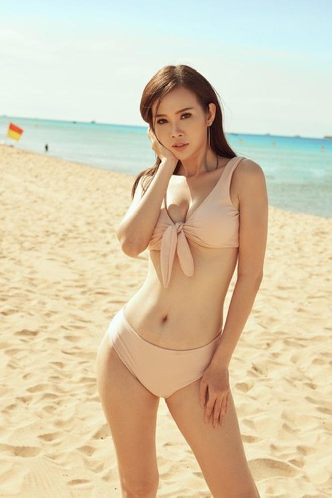 Kiều nữ Sài Thành khoe vòng 3 gần 1 mét với bikini - 3