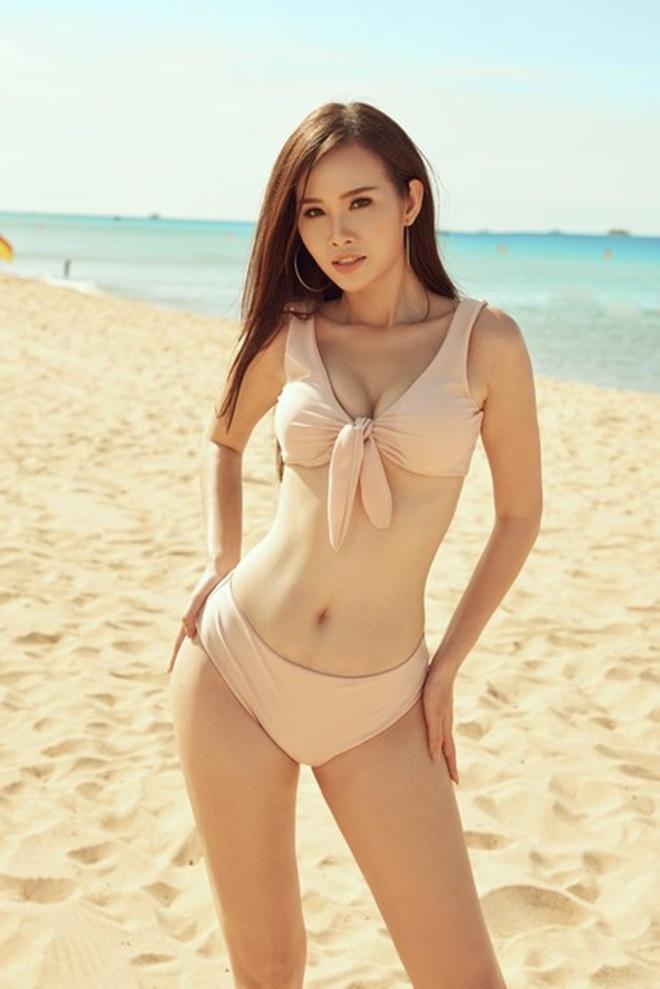 Kiều nữ Sài Thành khoe vòng 3 gần 1 mét với bikini - 2