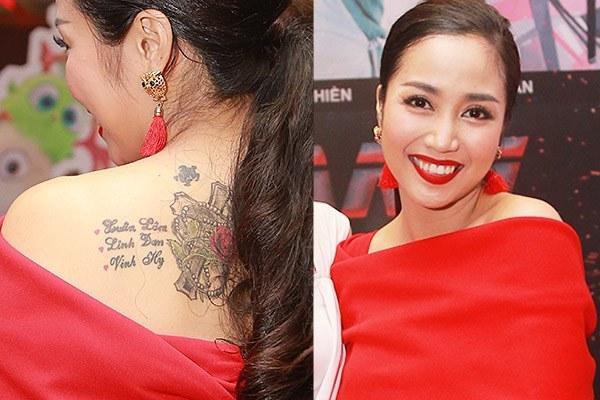 Cận cảnh hình xăm của 5 nữ MC dáng chuẩn, gợi cảm ở Việt Nam - 11