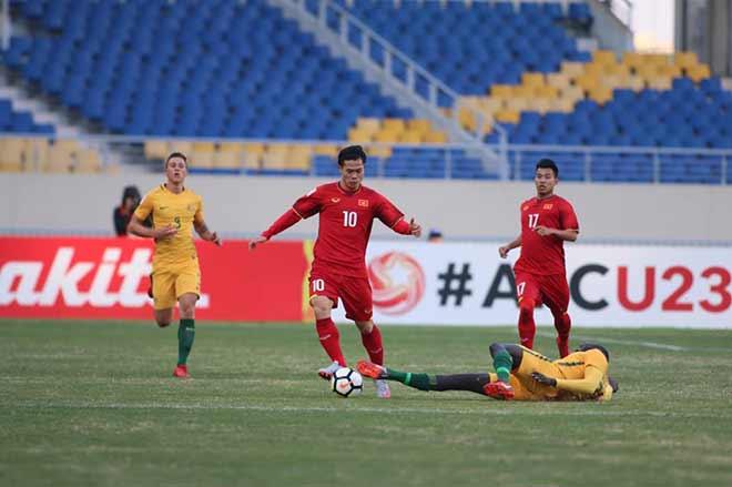 U23 Việt Nam vs U23 Australia: bảng D, VCK U23 châu Á
