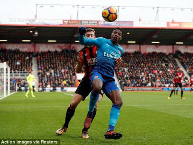 """Video, kết quả bóng đá Bournemouth - Arsenal: Tấn công ào ạt, xà ngang """"tỏa sáng"""" (H1) 1"""