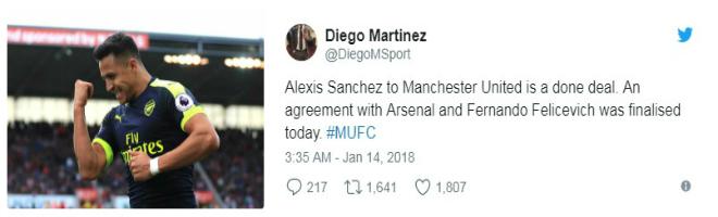 MU đạt thỏa thuận mua Sanchez: Chuyên gia xác nhận, triệu fan mơ vô địch C1 1