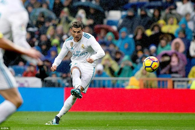 """Ronaldo cực đỉnh của """"chân gỗ"""": Kiệt quệ dứt điểm 11 ăn 0"""