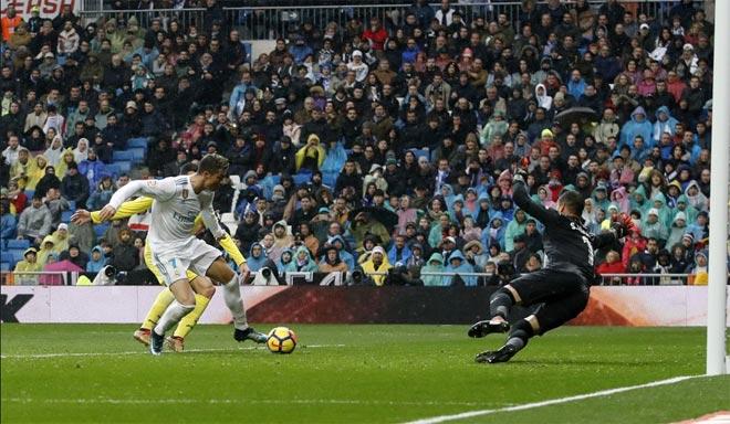 """Ronaldo cực đỉnh của """"chân gỗ"""": Kiệt quệ dứt điểm 11 ăn 0 - 7"""