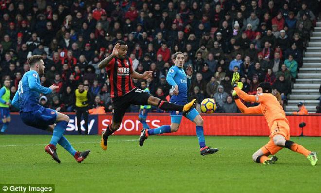 Bournemouth vs Arsenal: vòng 23 ngoại hạng Anh