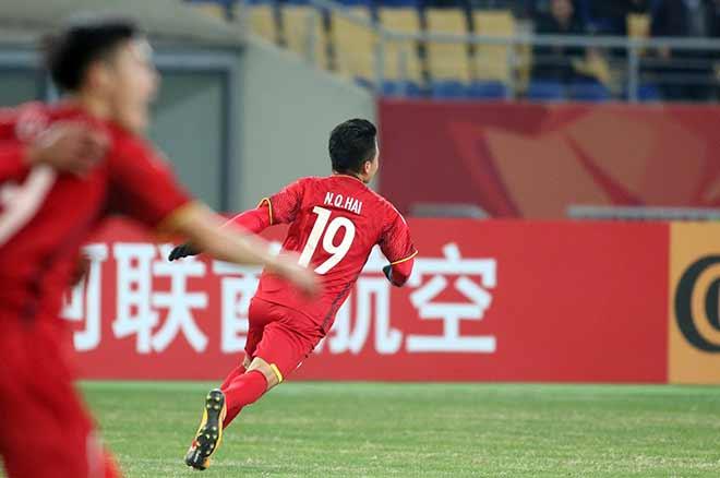 Quang Hải ghi bàn lịch sử, nước mắt người hùng U23 VN - 2