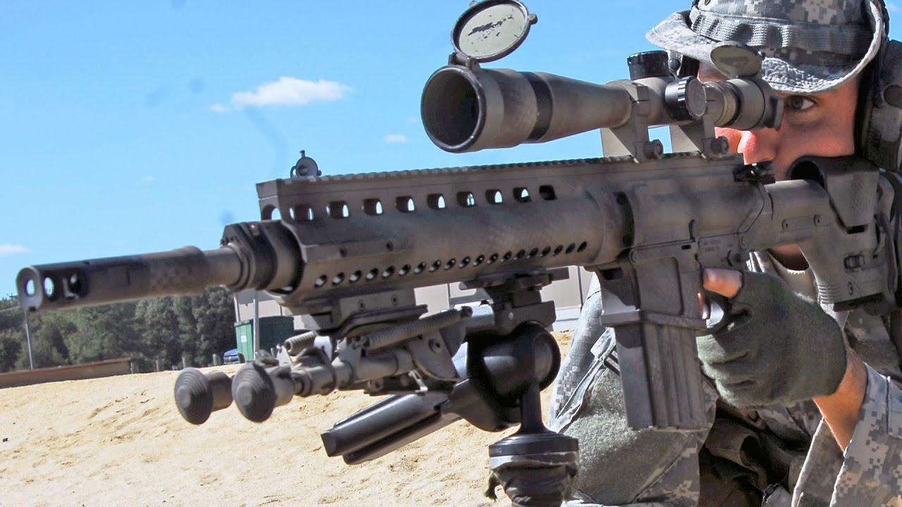 5 khẩu súng bắn tỉa uy lực, nổi danh sát thủ trên chiến trường