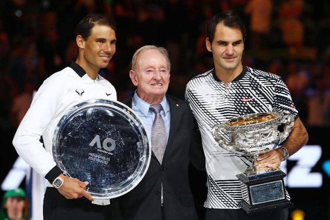 """Bảng xếp hạng tennis 15/1: Australian Open địa chấn nếu Federer """"hạ bệ"""" Nadal 1"""