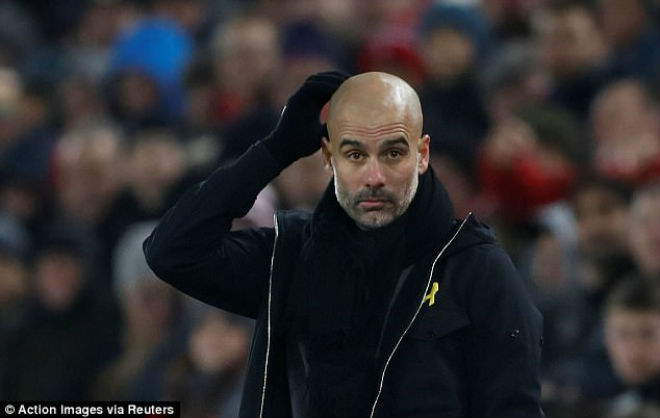 Liverpool - Man City đấu khẩu: Klopp vỗ ngực đua vô địch, Pep cay cú 1