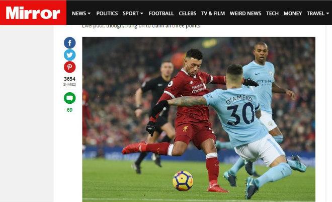 [Chặn đứng nhà Vua] 'Độc cô cầu bại' Man city dính chưởng,Chiến Thần Liverpool đại phá cường địch giải cứu Premier League.,