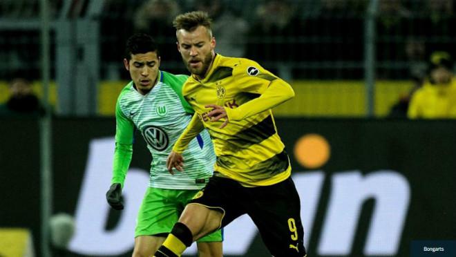 Dortmund - Wolfsburg: (vòng 18 Bundesliga)