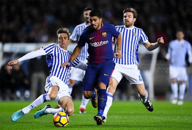 Sociedad - Barcelona: (vòng 19 La Liga)