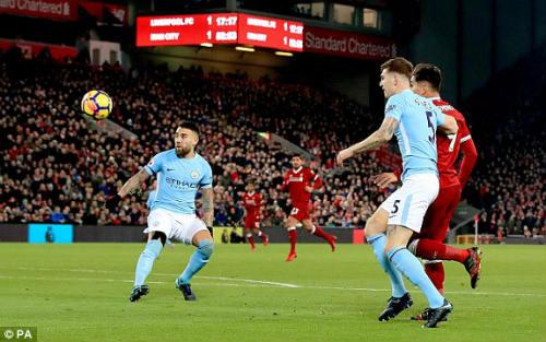 Chi tiết Liverpool - Man City: Nghẹt thở đến phút cuối (KT) 24