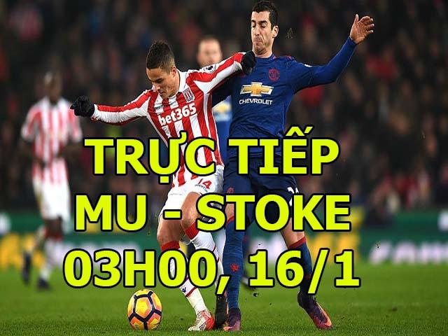 """MU - Stoke: Tấn công dồn dập, tiệc bàn thắng """"3 sao"""" 4"""