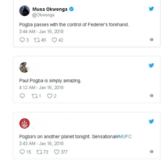 Vua kiến tạo Pogba cầm trịch MU: Fan khen mỹ miều như Federer 3