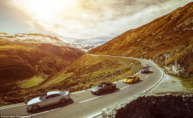 Lướt xe trên những cung đường đẹp và ngoạn mục nhất châu Âu - 8