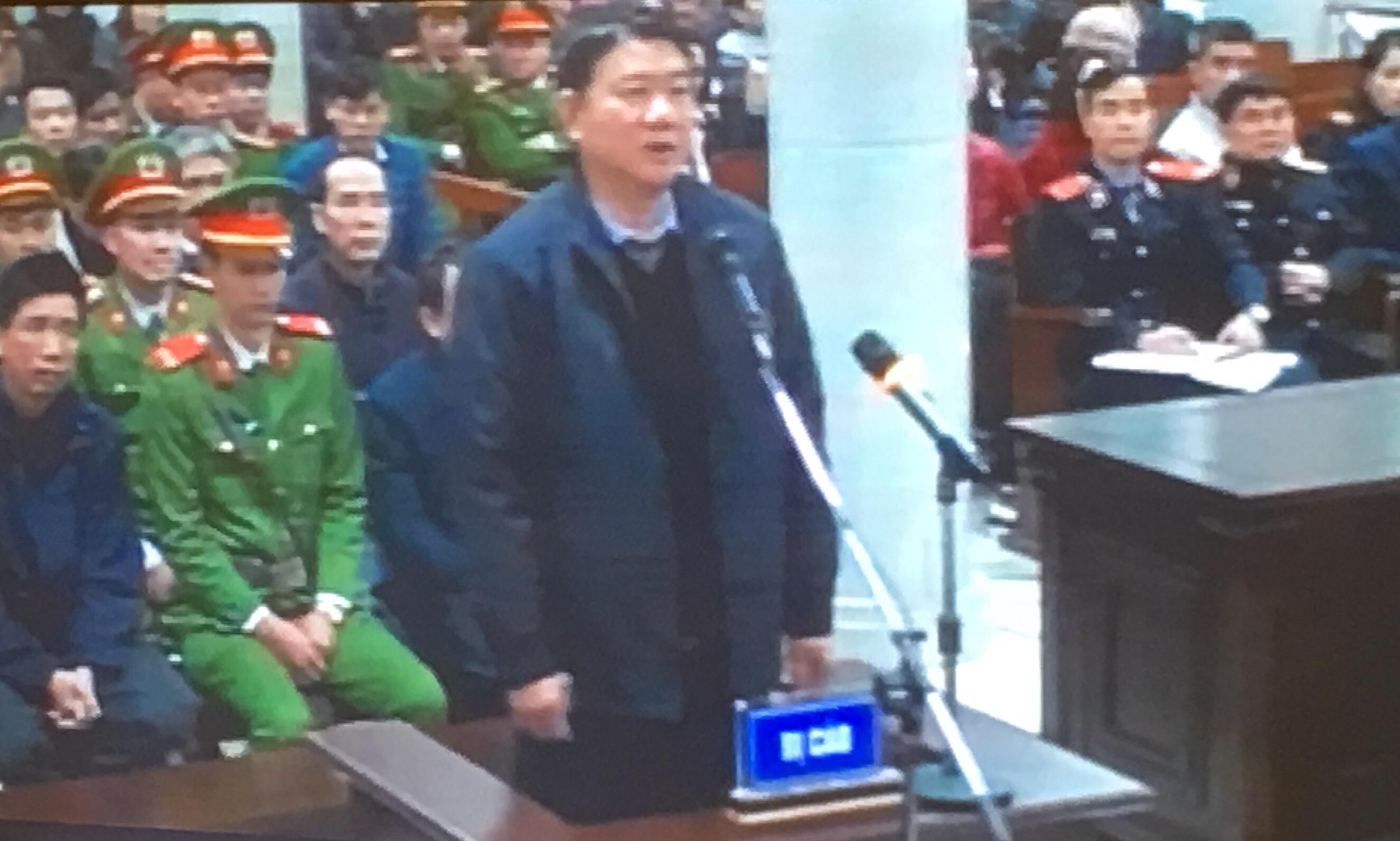 Ông Đinh La Thăng gửi kiến nghị xin tại ngoại tới HĐXX, VKS
