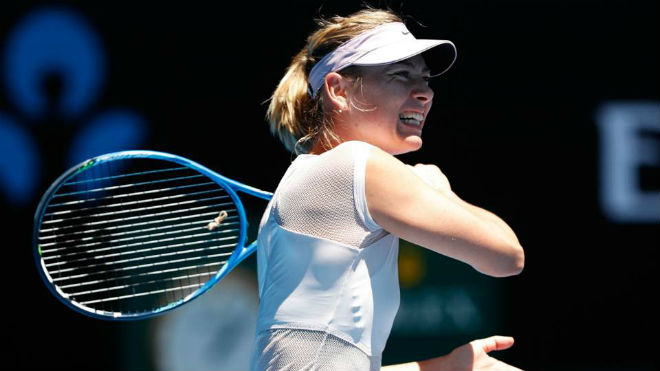 Australian Open: Sharapova