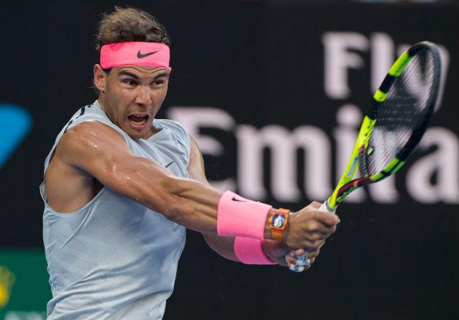 """Trực tiếp tennis Australian Open ngày 3: Nadal rạng rỡ gặp """"thần tài"""""""
