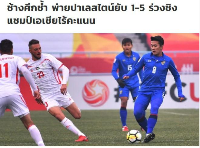 U23 Thái Lan thua thảm: Báo chí mơ được như Việt Nam và Malaysia