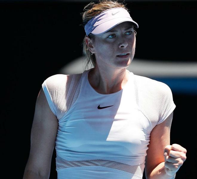Sharapova - T. Maria: Set 1 áp đảo, đầu xuôi đuôi lọt (Vòng 1 Australian Open)