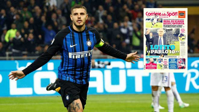 Real bật đèn xanh bán Ronaldo: Icardi 110 triệu euro thay thế - 2
