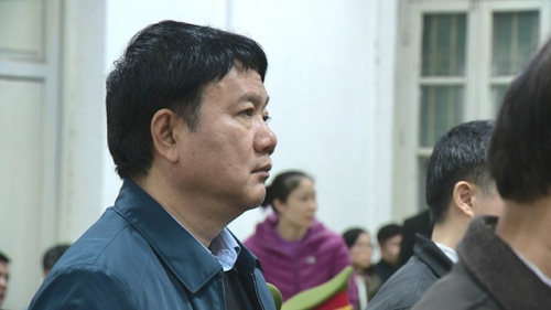 Bị cáo Đinh La Thăng: