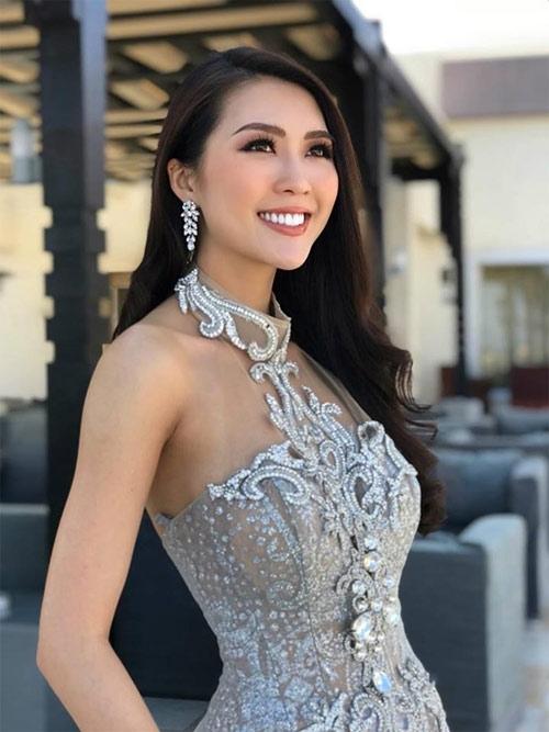 """Nhan sắc đối thủ gây tranh cãi của """"hoa hậu Việt lộ ảnh nóng"""""""
