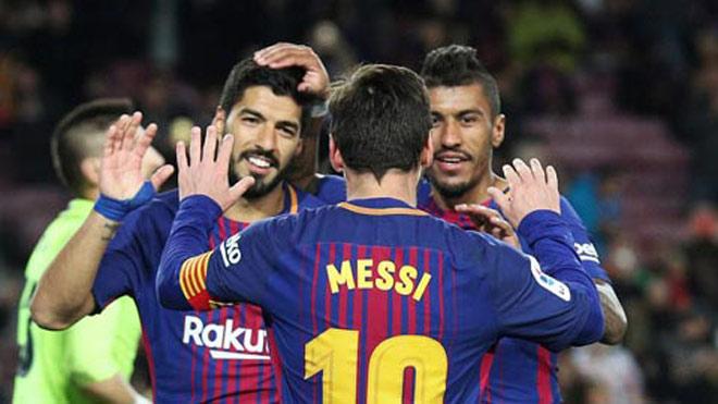 """Espanyol – Barcelona: Siêu nhân Messi và """"bộ ba nguyên tử"""" mới - 1"""